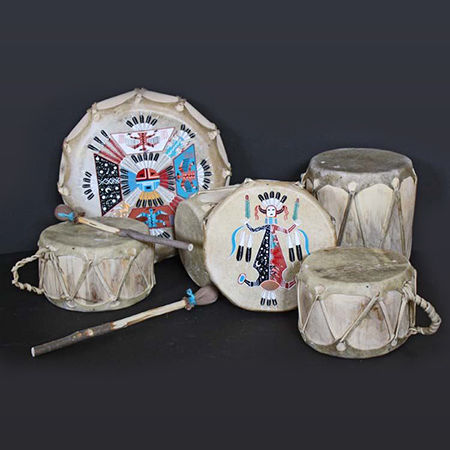 Picture for category Native American Navajo Drums