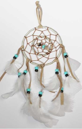 Picture of NATIVE AMERICAN DREAMCATCHER DOUBLE 04