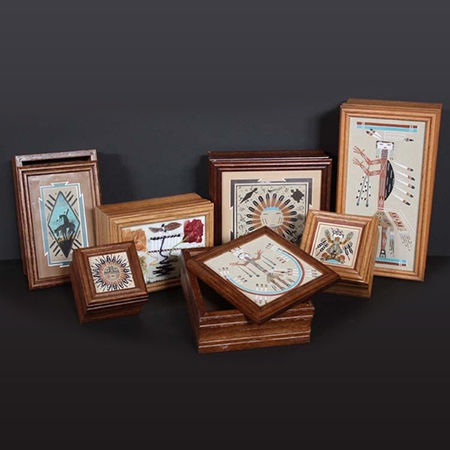 Picture for category Navajo Sand Painted Boxes