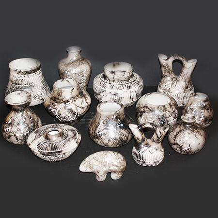 Picture for category Navajo Horsehair Pottery
