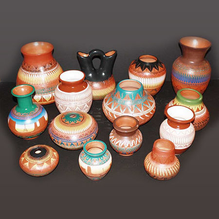 Picture for category Navajo Etched Pottery