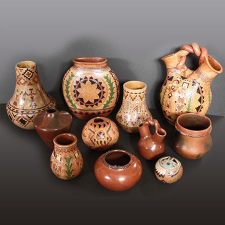 Picture for category Traditional Navajo Pottery