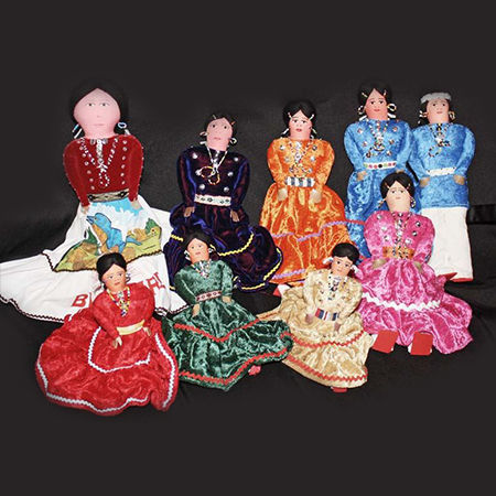 Picture for category Navajo Cloth Dolls