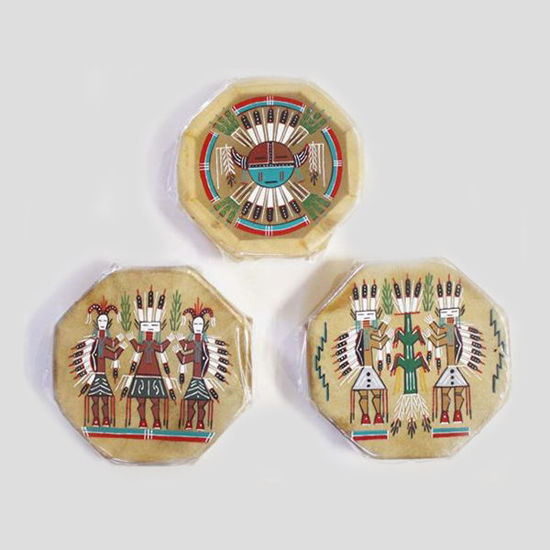 Picture of COCHITI PAINTED DRUM 120