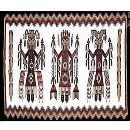 Picture for category Yei Style Navajo Rugs